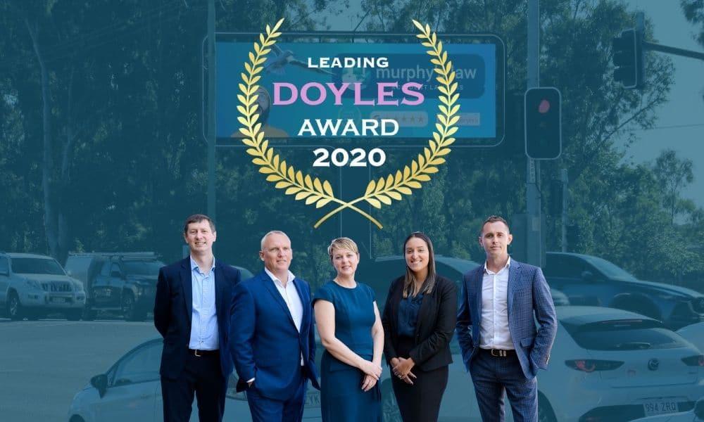 Doyles Leading Lawyers Award Brisbane
